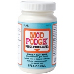 Mod Podge® Paper/Acid-Free Matte 8 oz.; Finish: Matte; Format: Bottle; Size: 8 oz; (model PLCS11236), price per each