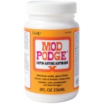 Mod Podge® Satin 8 oz.: Satin, Bottle, 8 oz, (model PLCS11272), price per each