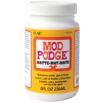 Mod Podge® Original Formula 8 oz. Matte; Finish: Matte; Format: Bottle; Size: 8 oz; (model PLCS11301), price per each