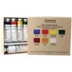 Williamsburg® Basic II 6-Color Oil Set; Color: Multi; Format: Tube; Size: Multi; Type: Oil; (model 6008600-0), price per set