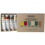Williamsburg® Irridescents Oil Paint Set; Color: Multi; Format: Tube; Size: 37 ml; Type: Oil; (model 6008700-0), price per set