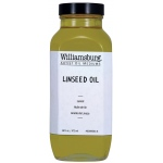Williamsburg® Linseed Oil 16 oz. Bottle: 16 oz, Linseed Oil, (model 6009003-6), price per each