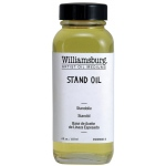 Williamsburg® Stand Oil 4 oz. Can: 4 oz, Oil Painting, (model 6009004-4), price per each