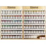 "Williamsburg Oil Color Paint Display Assortment: 35 1/2"" x 8 7/8"" x 24"""