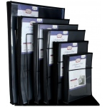Prestige™ Archival Print Protectors Display (Wire Rack); Material: Polypropylene; Size: Multi; (model AA900D), price per each