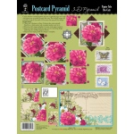 "Hot Off the Press 3-D Papier Tole Die Cuts Postcard Boutique: Multi, 8 1/2"" x 11"", (model HOTP8027), price per set"