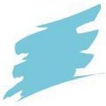 Prismacolor® Premier Art Brush Marker Light Blue: Blue, Double-Ended, Alcohol-Based, Dye-Based, Brush Nib, Fine Nib, (model PB047), price per each