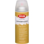 Krylon® Gallery Series™ Conservation Varnish Spray Matte; Finish: Matte; Size: 11 oz; (model K1370), price per each