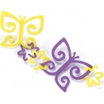 EK Success Garland Punch Butterfly & Flower: Pattern, Shape, (model 54-91007), price per each