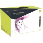 Prismacolor Double-Ended Brush Markers: 156-Color Set