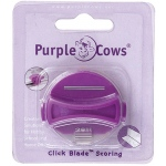 Purple Cows® Scoring Designer Click Blade; Replacement Part: Yes; Type: Handheld Trimmer; (model PPC1043), price per each