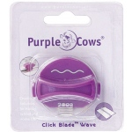Purple Cows® Short Wave Designer Click Blade: Replacement Part, Handheld Trimmer, (model PPC1044), price per each