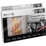 Reeves™ Mini Scraperfoil™ Silver Foil Gift Set; Color: Multi; (model PPSFMGIFT), price per set
