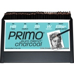 Primo® Euro Blend™ 96-Piece Charcoal Pencil Display; Lead Color: Black/Gray; Type: Assortment; (model 59A), price per each