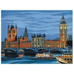 "Reeves™ Large Painting by Number Parliament; Board Size: 12"" x 15 1/2""; (model PL92), price per each"