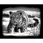"Reeves™ Snow Leopard; Board Size: 8"" x 10""; Color: Metallic; (model PPSF53), price per each"