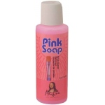 Mona Lisa™ Pink Soal Brush Soap 4 oz.; Format: Bottle; Size: 4 oz; (model PS04), price per each