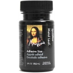 Mona Lisa™ Metal Leaf™ Liquid Adhesive: Bottle, 2 oz, (model ML10210), price per each