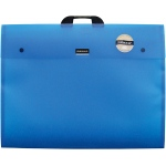 "Dekko Polypropylene Folio 17"" x 22"" Electric Blue; Color: Blue; Material: Polypropylene; Size: 17"" x 22""; (model DK0301), price per each"