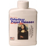 Mona Lisa™ Odorless Thinner 8oz: 8 oz, Solvents, (model ML190008), price per each