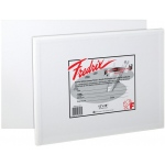 "Fredrix® Artist Series 8 x 8 Canvas Panel: White/Ivory, Panel/Board, 12-Pack, 8"" x 8"", Stretched, (model T3041), price per 12-Pack"