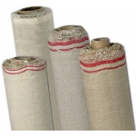 "Fredrix® PRO Series 120 x 6yd Linen Oil Primed Canvas Roll: White/Ivory, Roll, Linen, 120"" x 6 yd, Oil, Primed, (model T1049T), price per roll"