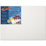 "Fredrix® Artist Series 16 x 20 Archival Watercolor Canvas Board: White/Ivory, Panel/Board, 16"" x 20"", Stretched, Watercolor, (model T3444), price per each"