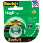 "Scotch® Magic™ 3/4"" x 300"" Tape: 3/4"" x 300"", (model 105), price per each"
