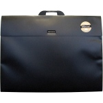 "Dekko Polypropylene Folios 19"" x 25"" Shadow Black: Black/Gray, Polypropylene, 19"" x 25"", (model DK0204), price per each"
