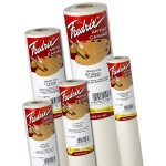 "Fredrix® Artist Series 56 x 30yd Acrylic Primed Cotton Canvas Roll: White/Ivory, Roll, Cotton, 56"" x 30 yd, Acrylic, Primed, (model T10802), price per roll"