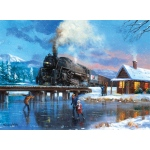 "Royal & Langnickel® Painting by Numbers™ 12 3/4 x 15 3/4 Adult Set Winter Magic; Board Size: 12 3/4"" x 15 3/4""; (model PAL25), price per set"