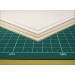 "Taskboard® White Taskboard sheets 1/8"" thick 20"" x 30"" - 25/Bx: White/Ivory, Sheet, 25 Sheets, 20"" x 30"", 1/8"", (model TB3225-W), price per 25 Sheets box"