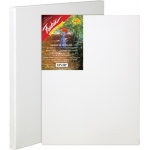 "Fredrix® Artist Series Red Label 9"" x 12"" Stretched Canvas: White/Ivory, Sheet, 9"" x 12"", 11/16"" x 1 9/16"", Stretched, (model T5014), price per each"