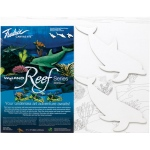 "Fredrix® Wyland® Dolphins Reef Series  ; Format: Panel/Board; Size: 11"" x 14""; (model T2593), price per set"
