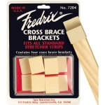 Fredrix Cross-Brace Bracket: 220-Pack, Bulk