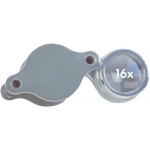 Alvin® 16x Doublet Loupe; Magnification: 16x; Type: Loupe; (model C794), price per each