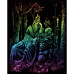 "Royal & Langnickel® Engraving Art Set Rainbow Wizard; Board Size: 8"" x 10""; Color: Multi; (model RAIN20), price per set"