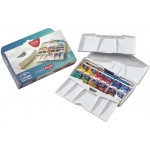 Winsor & Newton™ Cotman™ Watercolor Pocket Plus Set; Color: Multi; Format: Pan; Type: Watercolor; (model 0390373), price per set
