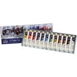 Winsor & Newton™ Cotman™ Watercolor 12-Color Set; Color: Multi; Format: Tube; Size: 8 ml; Type: Watercolor; (model 0390636), price per set
