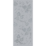 "Blue Hills Studio™ DesignLines™ Outline Stickers Silver #10; Color: Metallic; Size: 4"" x 9""; Type: Outline; (model BHS-DL010), price per pack"
