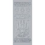 "Blue Hills Studio™ DesignLines™ Outline Stickers Silver #16: Metallic, 4"" x 9"", Outline, (model BHS-DL016), price per pack"