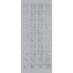 "Blue Hills Studio™ DesignLines™ Outline Stickers Silver #22: Metallic, 4"" x 9"", Outline, (model BHS-DL022), price per pack"