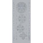 "Blue Hills Studio™ DesignLines™ Outline Stickers Silver #28: Metallic, 4"" x 9"", Outline, (model BHS-DL028), price per pack"