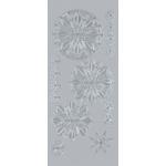 "Blue Hills Studio™ DesignLines™ Outline Stickers Silver #32: Metallic, 4"" x 9"", Outline, (model BHS-DL032), price per pack"