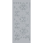 "Blue Hills Studio™ DesignLines™ Outline Stickers Silver #36: Metallic, 4"" x 9"", Outline, (model BHS-DL036), price per pack"