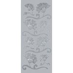 "Blue Hills Studio™ DesignLines™ Outline Stickers Silver #8: Metallic, 4"" x 9"", Outline, (model BHS-DL008), price per pack"