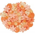 "Oranges; Color: Orange; Material: Paper; Size: 2 1/2""; Type: Dimensional; (model BHS803), price per each"