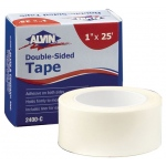 "Alvin Double-Sided Tape: 1"" x 25 Feet, 1 1/2"" Core, Boxed"