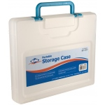 "Alvin® Portable Storage Case Medium Clear: Clear, Plastic, 10 1/2""l x 12 3/4""w  x 2""h, (model AC200-C), price per each"