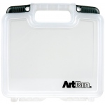 "Artbin® Quick View™ Deep Base 10"" Carrying Case; Color: Clear; Material: Polypropylene; Size: 10""; (model 6972AB), price per each"
